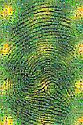 Viciedo Digital Art - The Fingerprint of Nature by Gilberto Viciedo