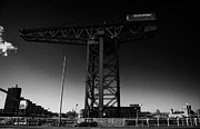 Glasgow Finnieston Crane Framed Prints - the Finnieston Crane in Glasgow Scotland UK Framed Print by Joe Fox