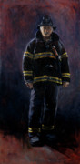 September 11 Originals - The Firefighter  by Sarah Yuster