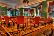 Senate Prints - The First American Congress Senate Chamber - Independence Hall - Congress Hall -  Print by Lee Dos Santos
