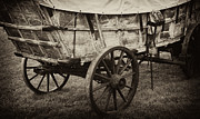 Wagon Wheels Prints - The first Station Wagons Print by Paul W Faust -  Impressions of Light