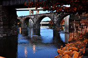 Bridges Digital Art Prints - The Five Bridges - East Falls - Philadelphia Print by Bill Cannon