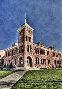 Flagstaff Framed Prints - The Flagstaff Courthouse  Framed Print by Saija  Lehtonen