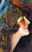 The Flapper Girl Print by Stefan Kuhn
