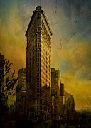 Flat Iron Framed Prints - The flat iron building - my take on it Framed Print by Jeff Burgess