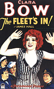 Clara Framed Prints - The Fleets In, Center Clara Bow Bottom Framed Print by Everett