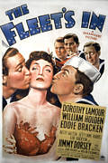 Love Triangle Posters - The Fleets In, William Holden, Dorothy Poster by Everett