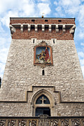 Old Krakow Framed Prints - The Florian Gate. Krakow. Framed Print by Fernando Barozza