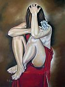 Nude Art - The flower by Ilse Kleyn