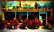Store Fronts Framed Prints - The Flower Shop Framed Print by Jan Maklak