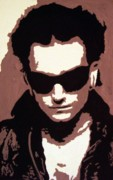Bono Painting Prints - The Fly Print by Azalea Millet