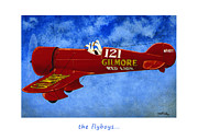 Airplane Paintings - The Flyboys... by Will Bullas