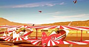 Biplane Originals - The Flying Circus Reno Air Races by Gus McCrea