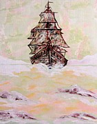 Cloud Drawings Originals - The Flying Dutchman by Patrick Horn