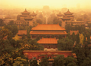 Forbidden City Prints - The Forbidden City Print by John Wang