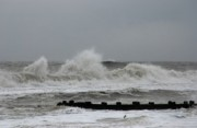 Seascapes - The Force Of Nature - Jersey Shore by Angie McKenzie