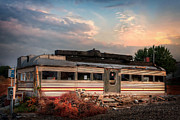 Diner Photos Posters - The Forest Diner Remains Poster by Kenneth Losurdo