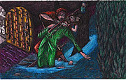Nonverbal Framed Prints - The Forest Lord Prevents A Rash Act Framed Print by Al Goldfarb