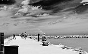 Ft. Pierce Jetty Posters - The Fort Pierce Jetty Poster by Don Youngclaus