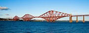 Train Crossing Prints - The Forth Bridge Print by Max Blinkhorn