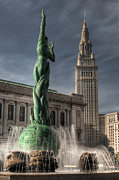 Eternal Life Posters - The Fountain of Eternal Life Poster by At Lands End Photography