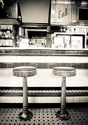 Old Diner Photos - The Four Aces Diner by Edward Fielding
