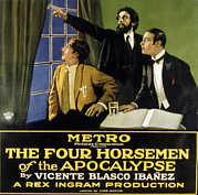 Valentino Posters - The Four Horsemen Of The Apocalypse Poster by Everett