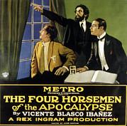 The Four Horsemen Of The Apocalypse Print by Everett