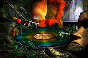 Record Digital Art - The four seasons by Alessandro Della Pietra