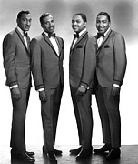 Stubbs Framed Prints - The Four Tops, Abdul Duke Fakir, Levi Framed Print by Everett