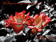 Inspire Metal Prints - The Fragrance always remains Metal Print by Karen Lewis