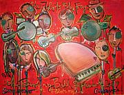 Fray Prints - The Fray and the Flobots Print by Laurie Maves