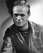 1950s Movies Framed Prints - The Frogmen, Richard Widmark, 1951 Framed Print by Everett