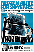 Horror Movies Framed Prints - The Frozen Dead, Bottom Left Dana Framed Print by Everett