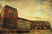 Green Bay Prints - The Frozen Tundra Print by Joel Witmeyer