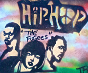 First Amendment Paintings - The Fugees by Tony B Conscious