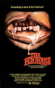 1981 Photo Framed Prints - The Funhouse, Poster, 1981 Framed Print by Everett