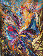 Birkat Cohanim Prints - The Galilee Iris Print by Elena Kotliarker
