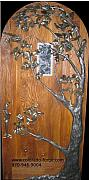 Hardware Mixed Media - The Gamble Oak Door by MD Selinsky