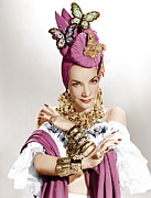 Statement Necklace Art - The Gangs All Here, Carmen Miranda by Everett