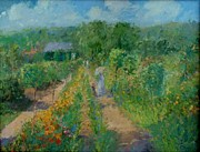 Malcolm Mason - The Garden At Giverny