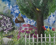 The Garden Print by Barbara McNeil