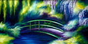 Power Paintings - The Gardens of Givernia by James Christopher Hill