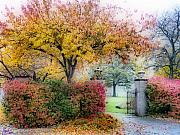 Fall Foliage Digital Art - The Gate by Jeff Breiman