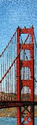 Golden Gate Mixed Media - The Gate by Michael Kruzich