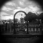 Toy Camera Prints - The Gate Print by Paul Anderson