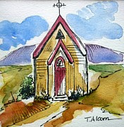Religion Paintings - The Gathering Place by Therese Alcorn