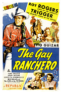 The Horse Photo Posters - The Gay Ranchero, Roy Rogers, Trigger Poster by Everett