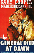 Flick Posters - The General Died At Dawn Poster by Nomad Art and  Design