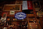 Historic Country Store Photo Posters - The General Store in Luckenbach TX Poster by Susanne Van Hulst